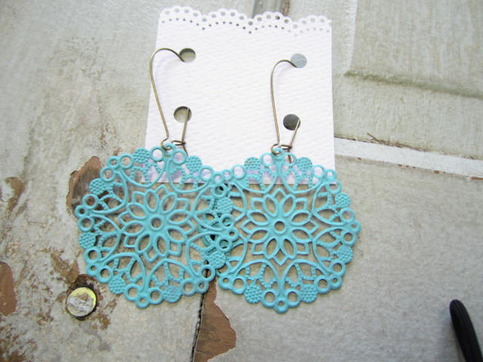 Robins Egg Blue Earrings