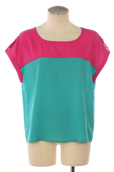 Color Blocking Tunic