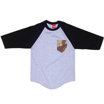 CAMO POCKET RAGLAN