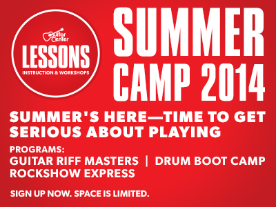 Guitar Center Studios Summer Camp