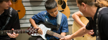 Music & Arts is committed to music education