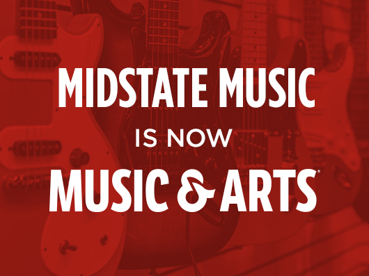 Midstate Music is now Music & Arts