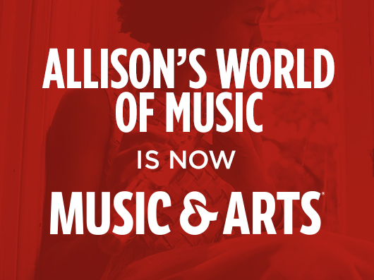 Allison's is now Music & Arts