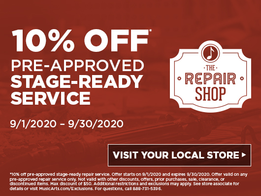 Repair Shop Offer