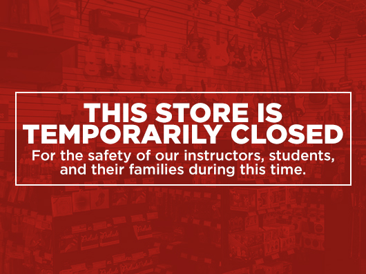 Temporarily Closed Store
