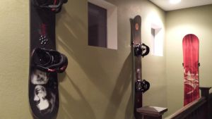 Snowboard Wall Mount | Hang Time