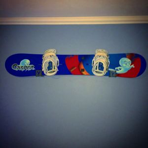Snowboard Display Logo Rack | Aluminium