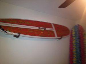 Surfboard Holder | Wood Rack