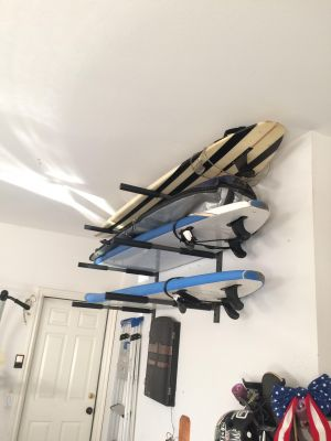 Surf Storage Rack | 3 Boards | Heavy Duty Metal