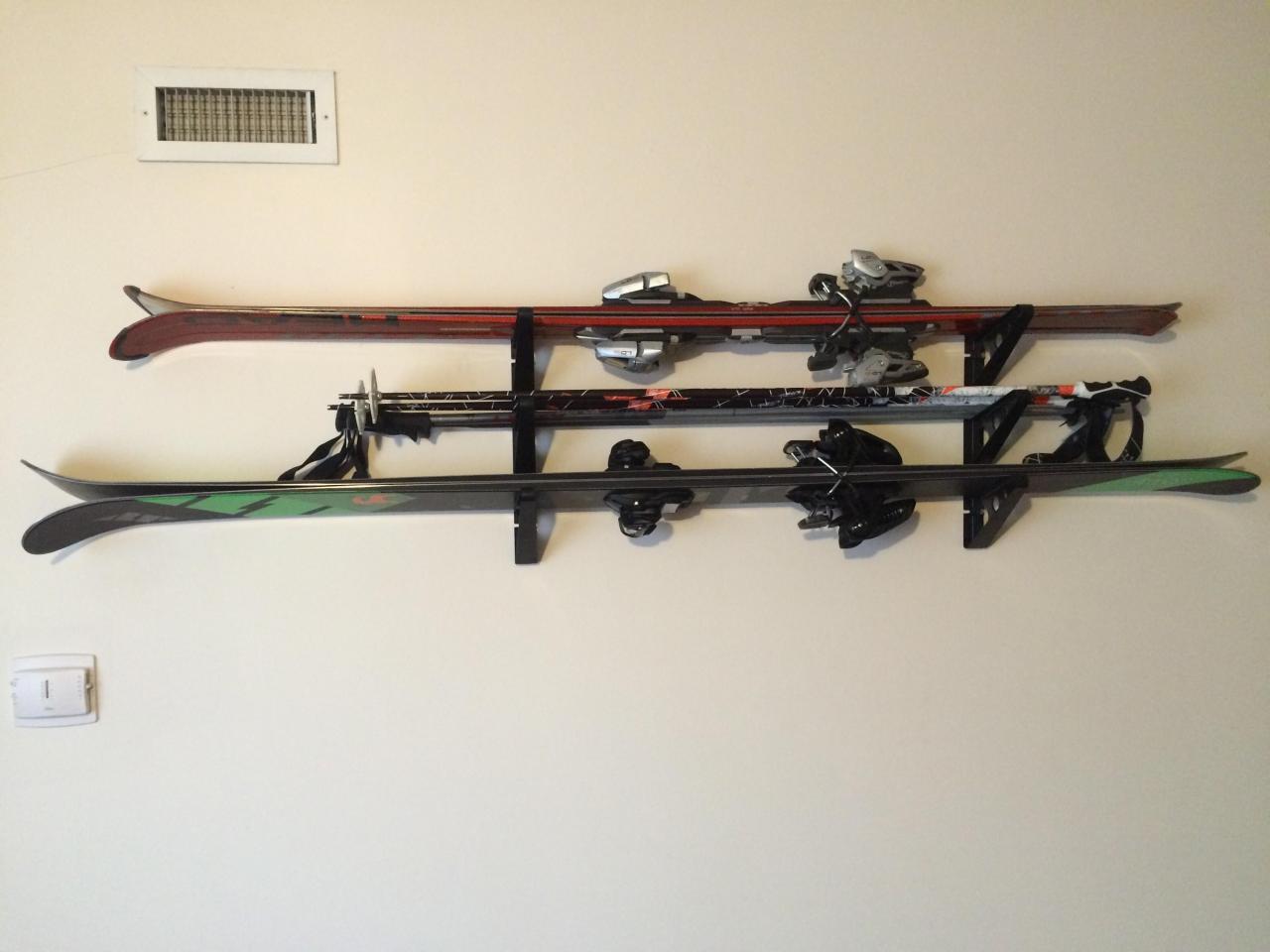 Ski Storage Trifecta Rack Horizontal Rack