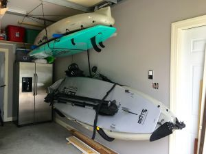 Extra Large Kayak Rack | Kayak Wall Holder