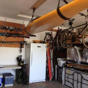 Horizontal Ski Storage Rack   Adjustable