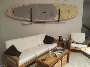 SUP Stash | Paddle Board Storage Rack and Paddle Holder