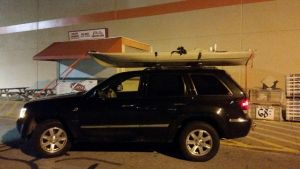 Locking Kayak Roof Rack | Inno 446