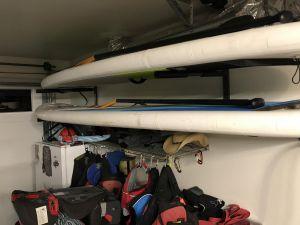 Heavy Duty Metal Surfboard Wall Storage Rack