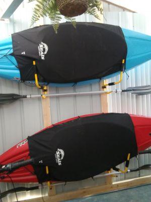 Kayak Wall Mount | Foldable with Paddle Rack
