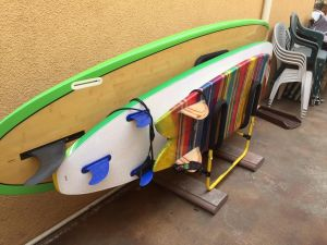 Multi Surfboard Stand | Indoor-Outdoor Surf Rack