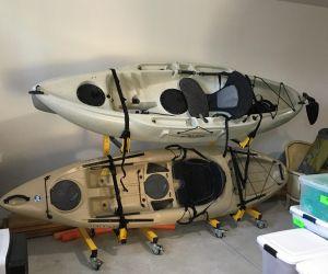 2 Boat Freestanding Kayak Rack | Suspenz Deluxe