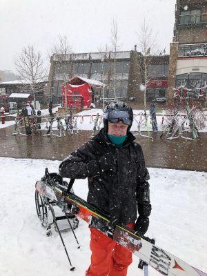 Ski and Pole Carrier | Shoulder Strap