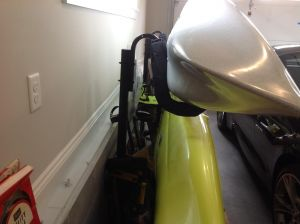 Heavy Duty Free-Standing Kayak Storage Rack