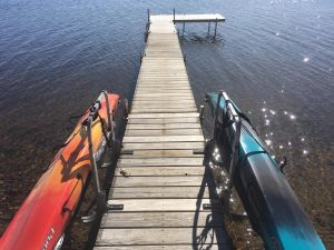 Kayak Dock Rack | Marine Dockside & Waterside Storage