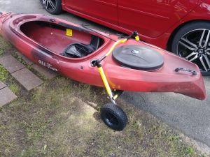 Stern Mount Kayak Dolly | Suspenz Boat Carrier
