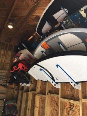Wake Surf Storage Rack