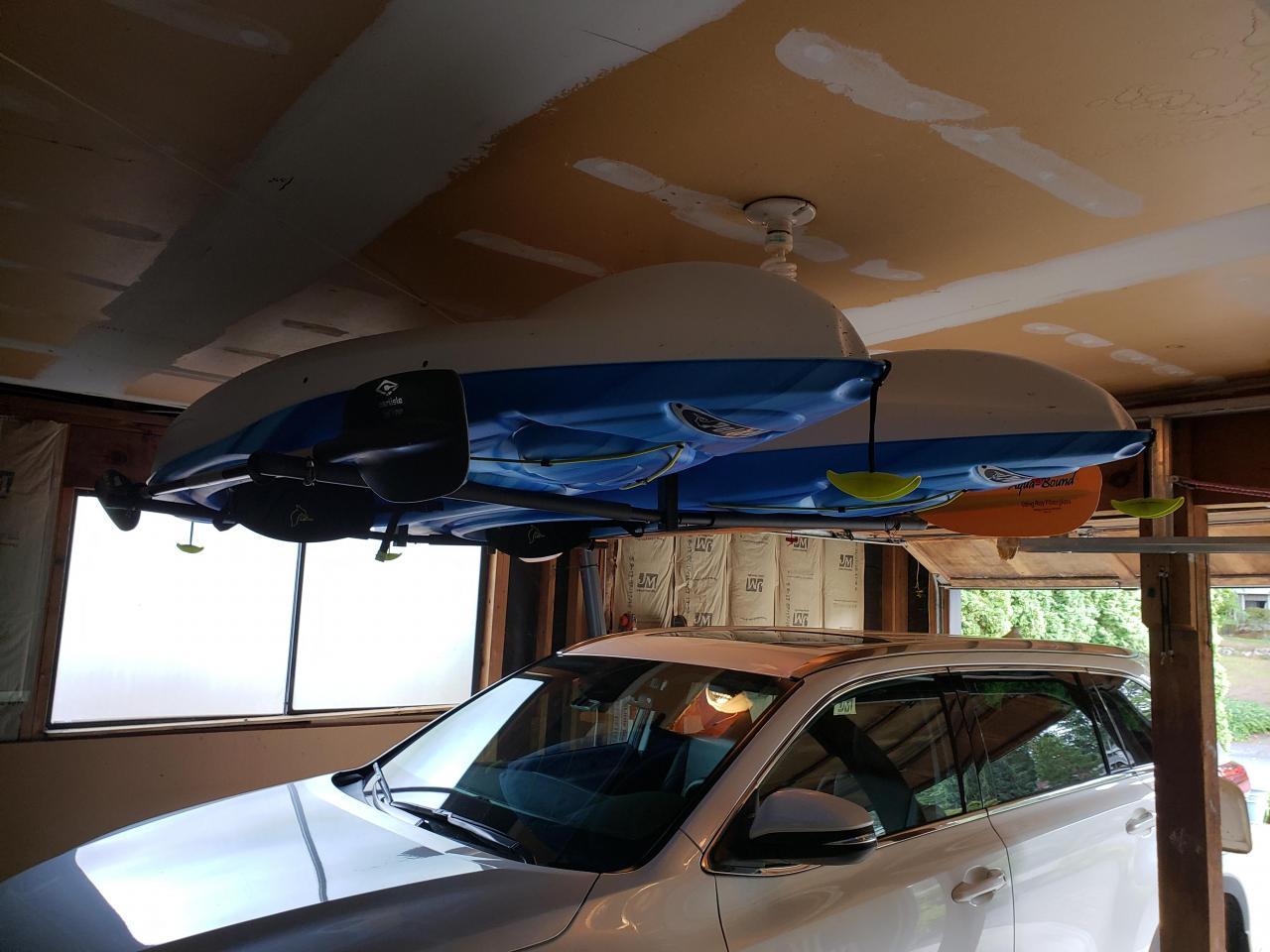 Hi Port 2 Adjustable 2 Kayak Ceiling Storage
