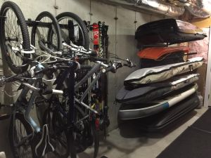 Omni Bike Ceiling Rack | Holds up to 5 Bikes | Garage Storage