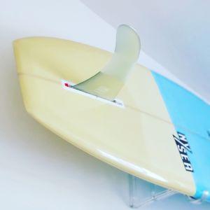 Clear Surfboard Display Rack   Wall Mounted Display