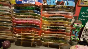 Freestanding Skateboard Rack | 14 Boards