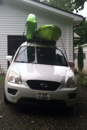 Kayak Roof Rack with Load Assist | Malone SeaWing