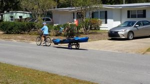 Kayak Trailer for Bikes | Tow Your Boat