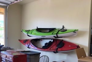 Secure Kayak Wall Rack | Safety Strap