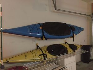 Suspension Kayak Wall Rack