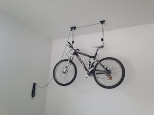 Ceiling Bike Rack | Hoist