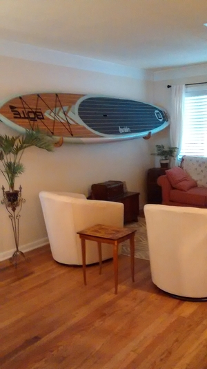 Stand Up Paddle Board (SUP) Wall Rack