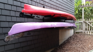 Secure Kayak Wall Rack