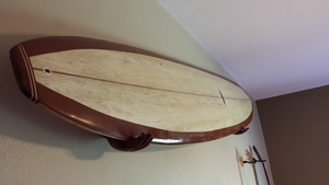 Beatnik Wooden Hands Surfboard Rack