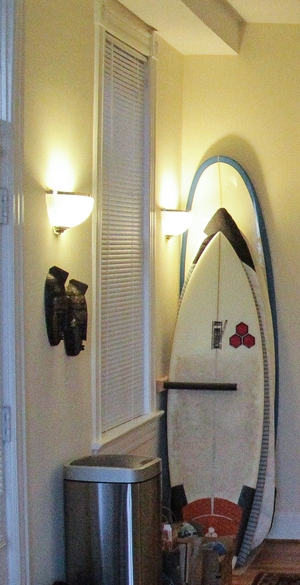 Vertical Surfboard Rack | Upright Surfboard Storage