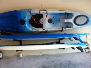 Kayak Hook Rack   Heavy Duty Steel