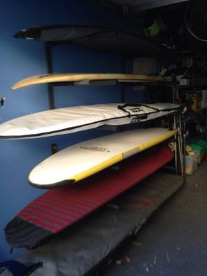 Surf Storage Rack | 3 Boards | Heavy Duty Metal