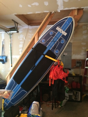 Suspension SUP Wall Rack