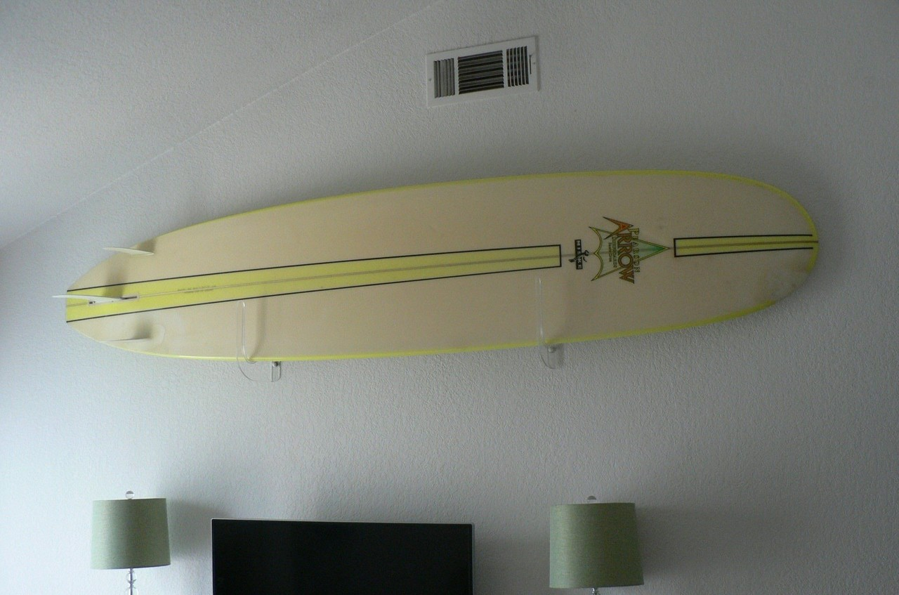 Clear acrylic surfboard wall rack storeyourboard clear acrylic surfboard wall rack amipublicfo Images