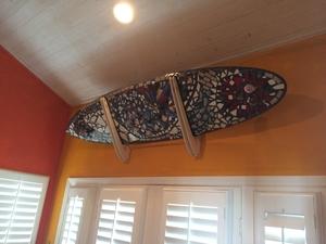 Talic Hangout Longboard Surf Rack | Wall Surfboard Storage