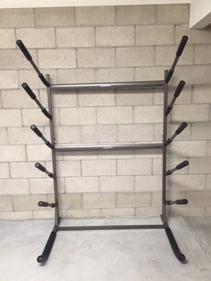 Freestanding SUP Rack | Holds 5 Paddleboards