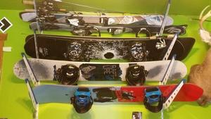 Ski and Snowboard Storage Rack | Home Rack