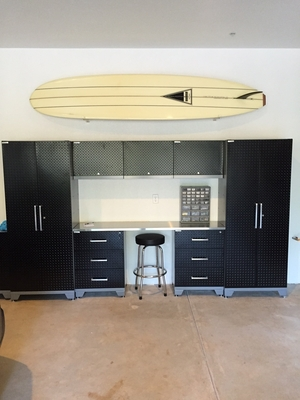 Clear Surfboard Display Rack