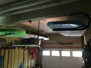 SUP Ceiling Rack | Indoor-Outdoor Storage Mount
