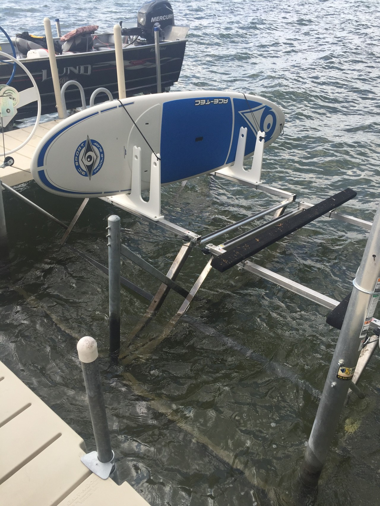 Sup Rack For Docks And Piers Marine Grade